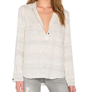 Current Elliot The AnnaBelle Popover Top Shirt